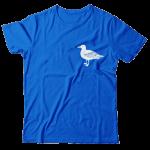 Seagulls. Brighton retro motif t-shirt.